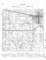 Staples Township, Moran Creek, Rice Lake, Dower Lake, Todd County 1956 Published by Thomas O. Nelson Co
